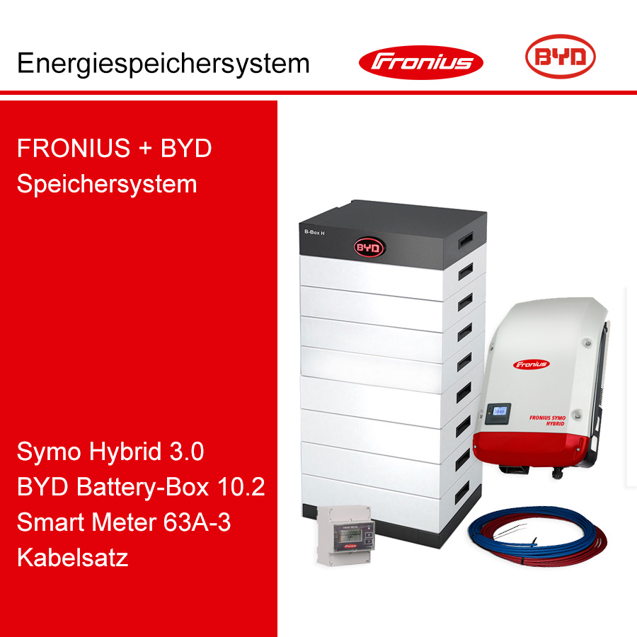 FRONIUS/BYD 3-Ph.Energiespeichersystem SH3.0-3S/H10.2