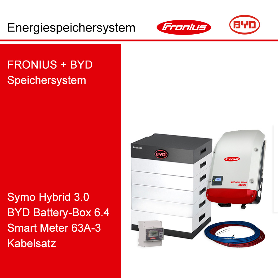 FRONIUS/BYD 3-Ph.Energiespeichersystem SH3.0-3S/H6.4
