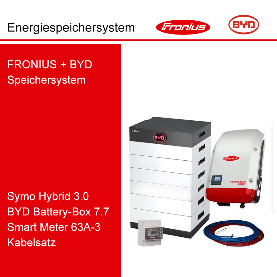 FRONIUS/BYD 3-Ph.Energiespeichersystem SH3.0-3S/H7.7