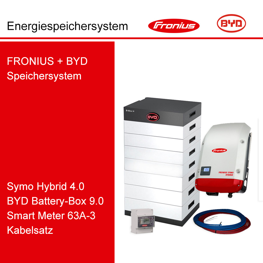 FRONIUS/BYD 3-Ph.Energiespeichersystem SH4.0-3S/H9.0