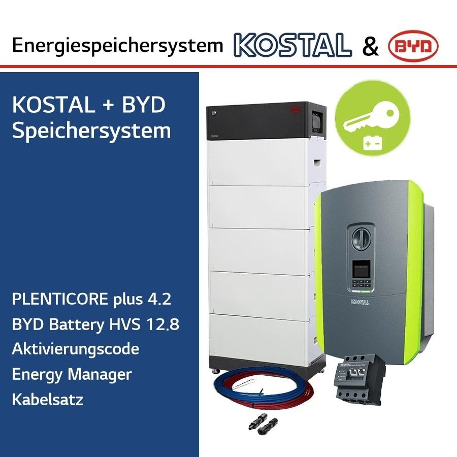 KOSTAL/BYD 3-Ph.Energiespeichersystem PLC4.2/H12.8