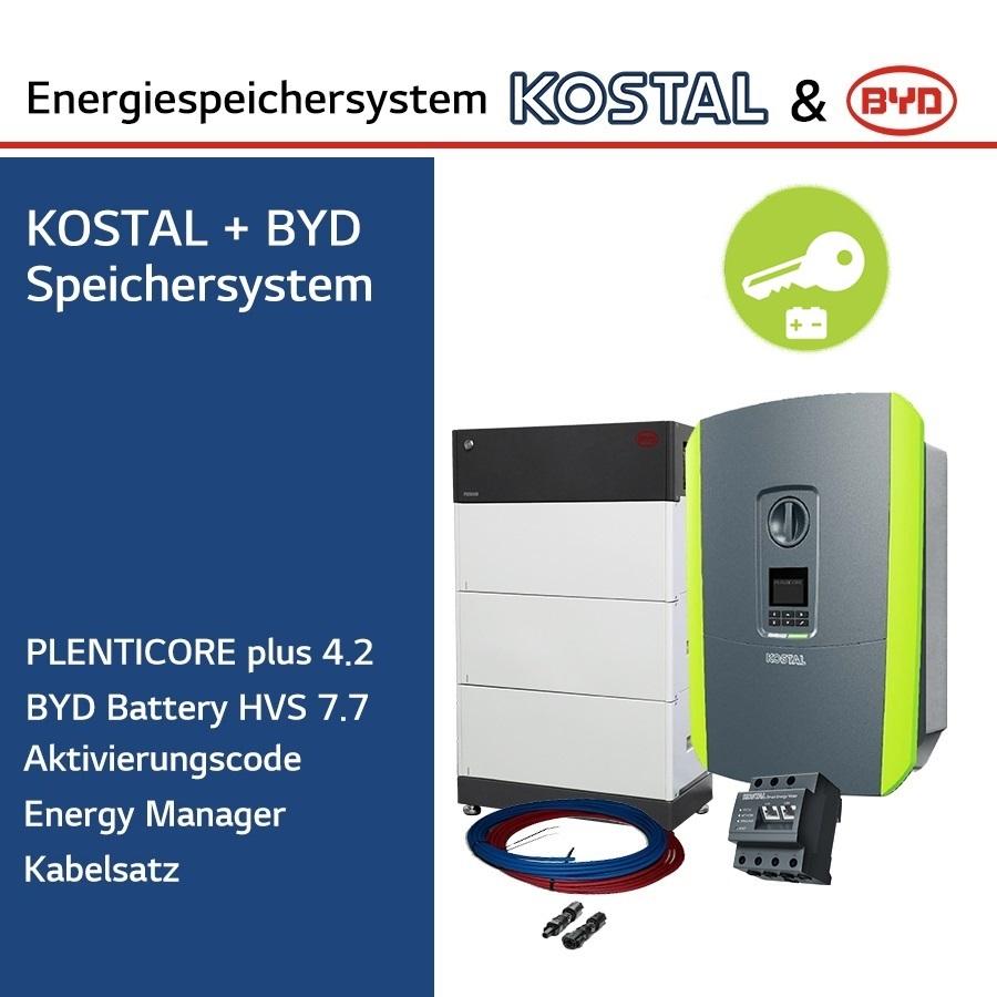KOSTAL/BYD 3-Ph.Energiespeichersystem PLC4.2/H7.7