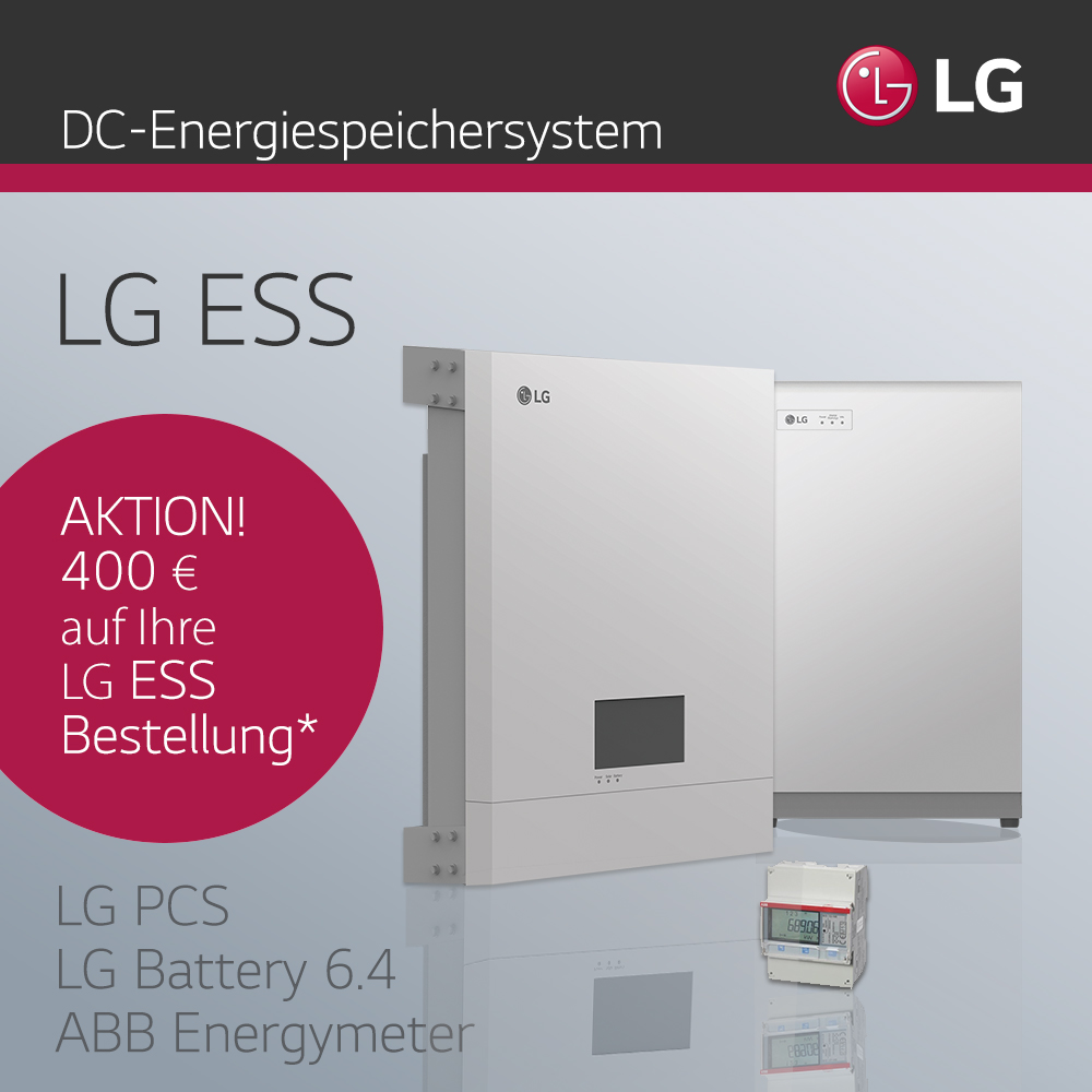 LG ESS DC Speichersystem